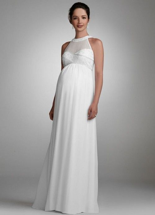 Maternity Wedding Dresses For Pregnant Brides Who Don T Look Like Frumpy Messes