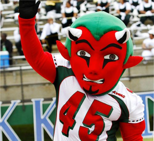 Mississippi Valley State Delta Devils Mascot With Images Ncaa
