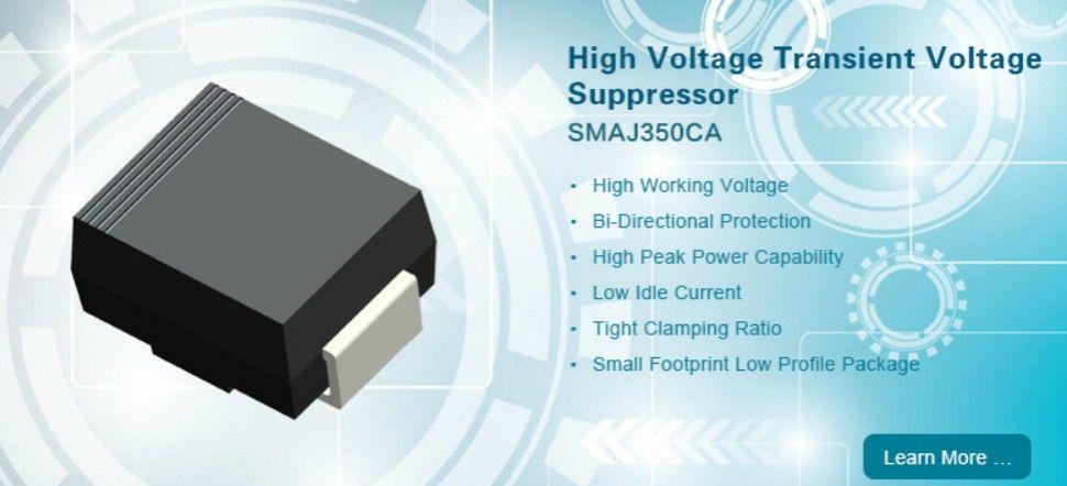 High Voltage Transient Voltage Suppressor Smaj350ca High Voltage Suppressor Transients