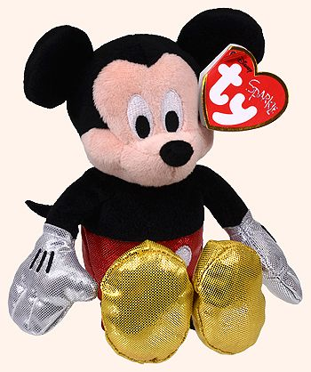 Mickey (Disney Sparkle) - mouse - Ty Beanie Babies  fc696136c33