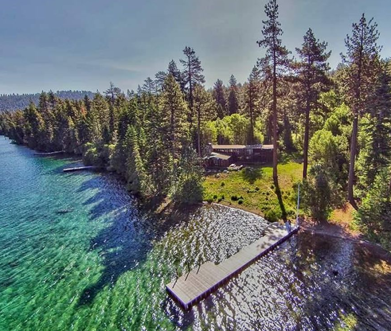 Lake Tahoe Luxury Homes: Do You Recognize This Rustic Lake Tahoe Lodge Home For
