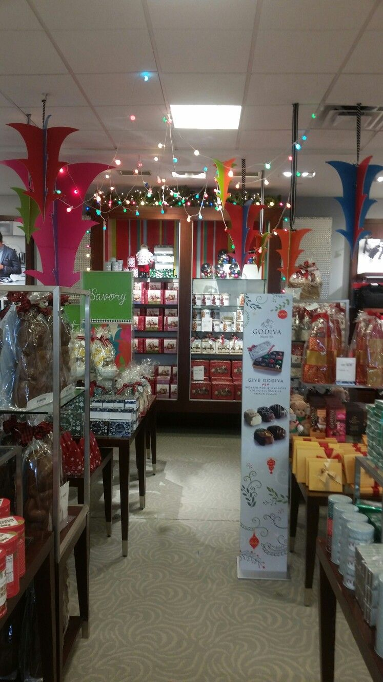 Confections shop, holiday