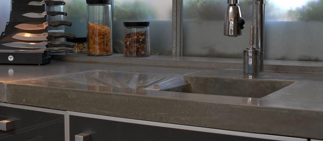 concrete bar front concrete countertops polished. Black Bedroom Furniture Sets. Home Design Ideas