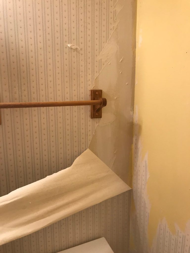 How To Remove Wallpaper from Drywall   Removable wallpaper ...