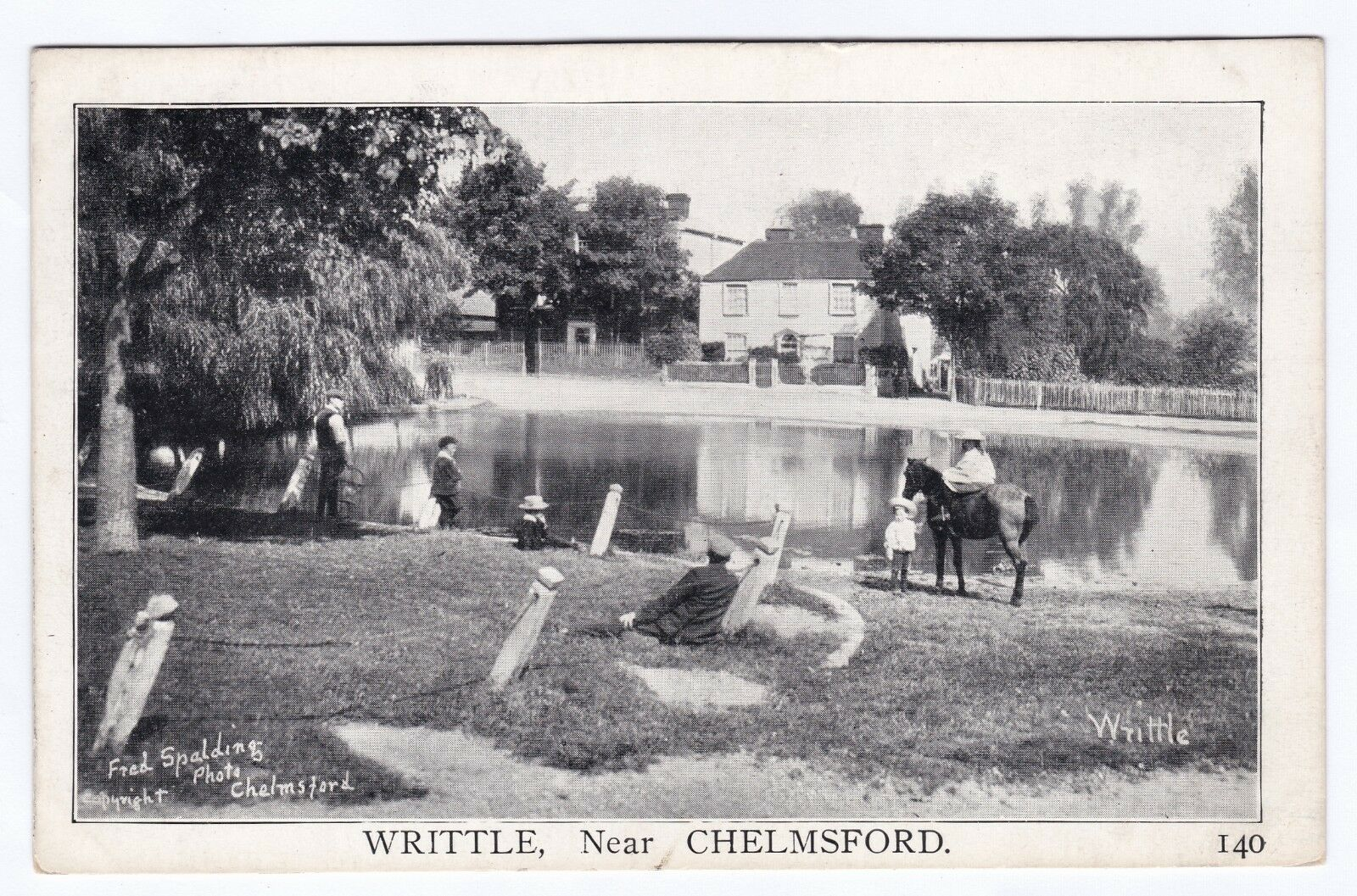 P3836 Original Old Postcard Of Writtle Essex By Spalding 12 00 Picclick Uk Old Postcards Postcard Holiday Travel