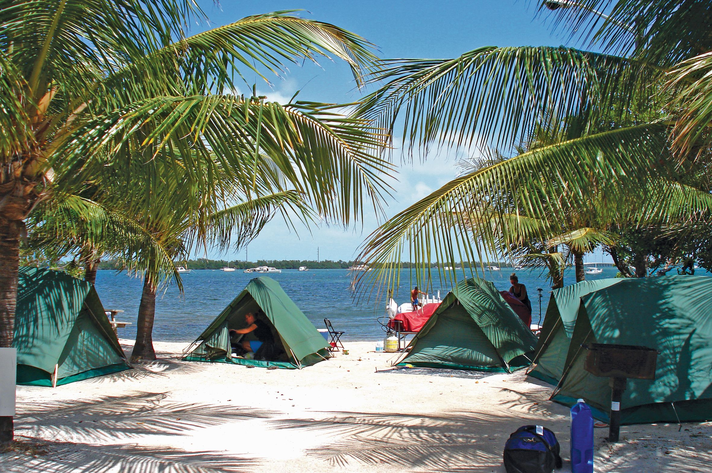 Camping In The Florida Keys