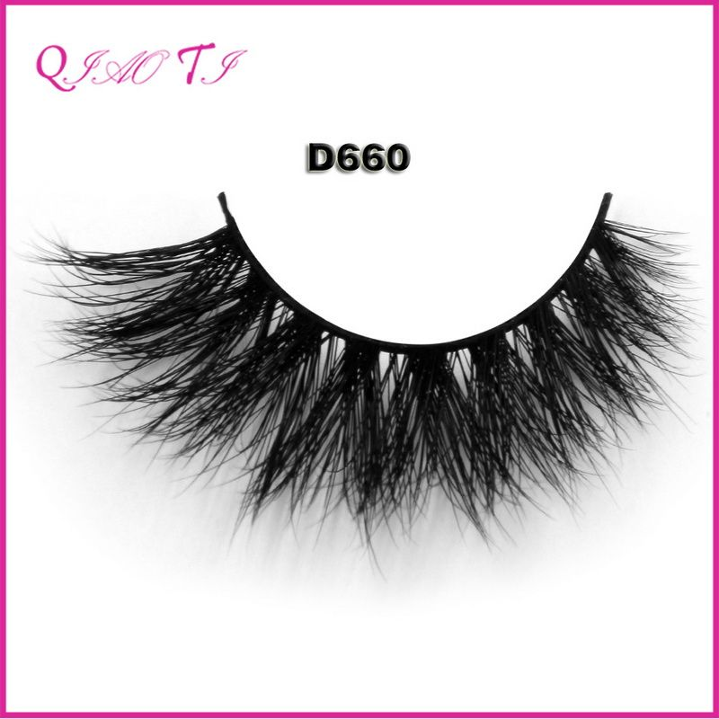 41dce1e1d06 wholesale 100% real siberian mink fur mink eyelashes 3d mink lashes ...