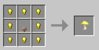 Gold Nugget Minecraft Crafting