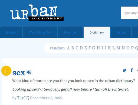 Urban Dictionary Wins Urban Dictionary Special Quotes Humor