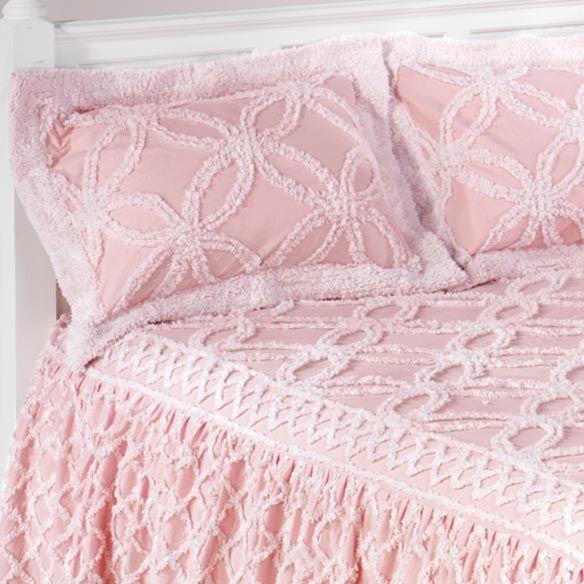 pink chenille bedspread - Chenille Bedspreads