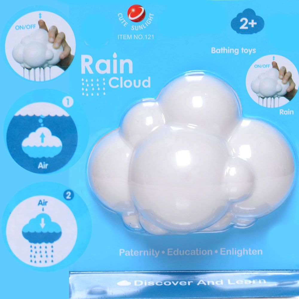 Educational Rain Cloud baby enlightening bath toy Discovery learning ...