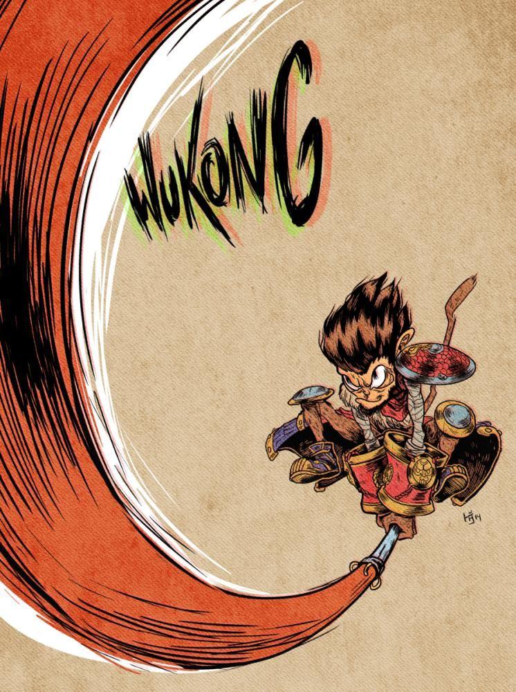 Imgur Com Monkey King League Of Legends Monkey Art