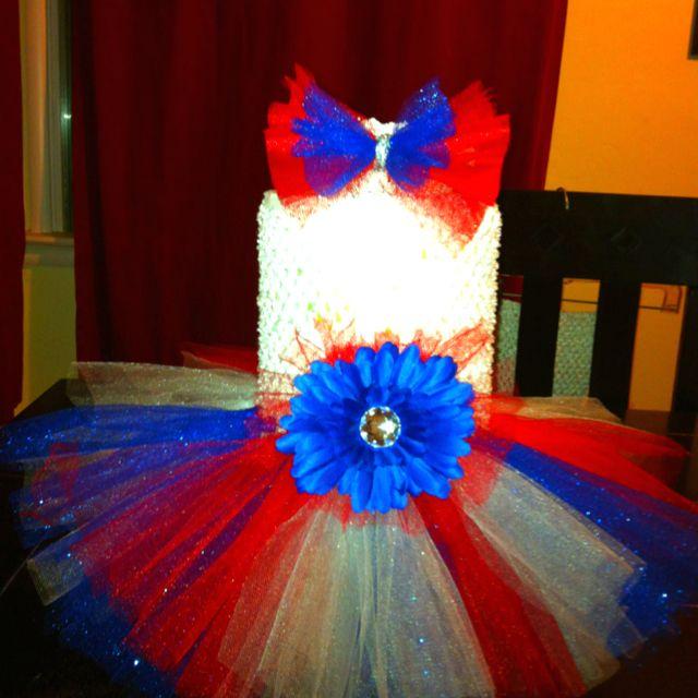 4th of July tutu dress