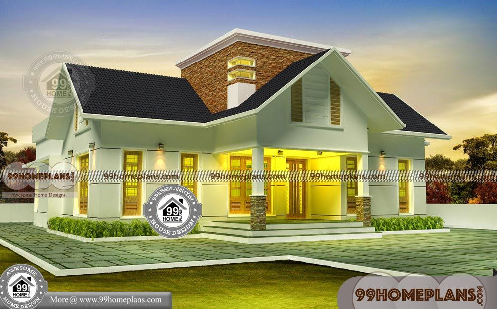1 Story Home Plans With Simple Above 1000 Sq Ft Modern House Plans With Very Cute And Stylish T House Plans House Architecture Design House Architecture Styles