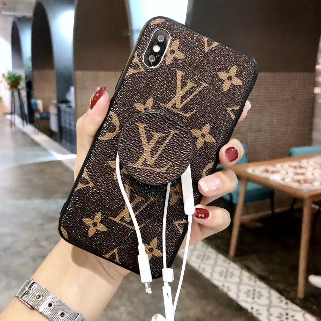 Lv Louis Vuitton Lv Louis Vuitton Expanding Stand Holder Grip Leather Iphone X Cover Protective Cas Louis Vuitton Phone Case Iphone Phone Cases Buy Iphone Case