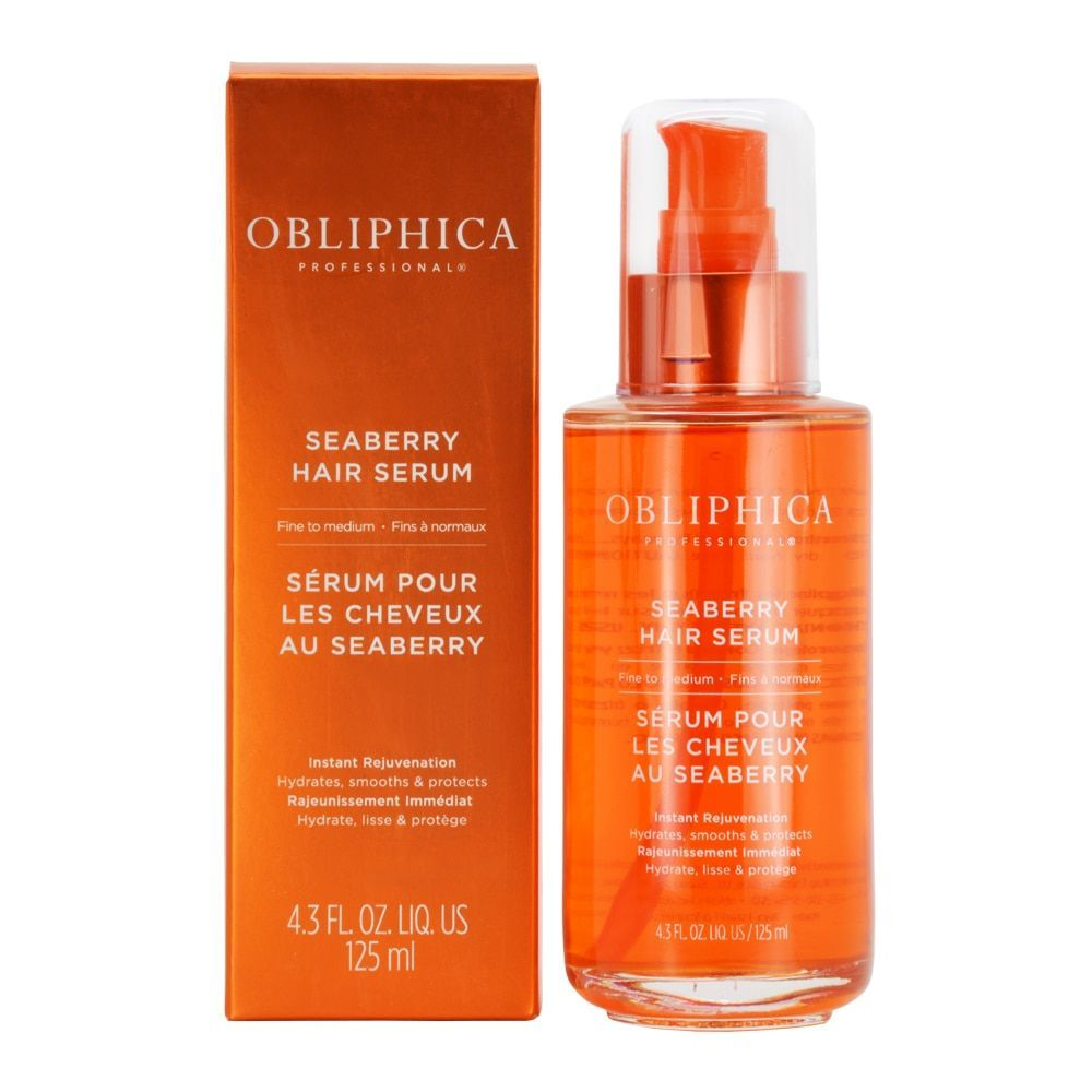 obliphica seaberry 4.3-ounce hair serum for fine to medium hair