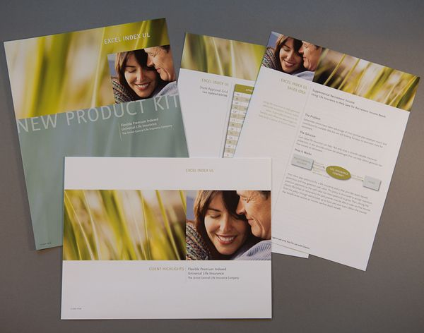 Excel Index UL sales kit - Union Central Life by Maureen ONeill, via Behance