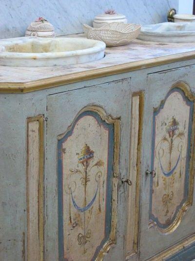 Mobili da bagno in stile stile rustico stile country 15 img provenzale pinterest mobili - Mobili da bagno in stile ...