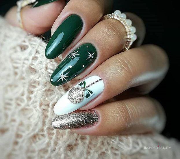 30 + christmas Nails | Acrylic - Inspired Beauty