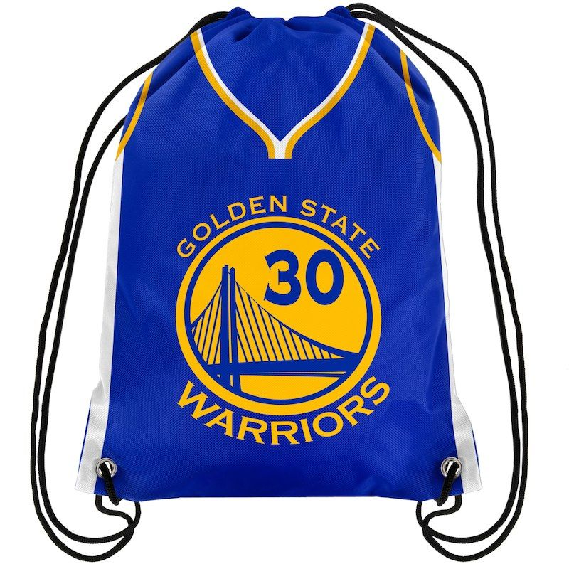 Golden State Warriors Player Drawstring Backpack Gym Bag Stephen Curry #30