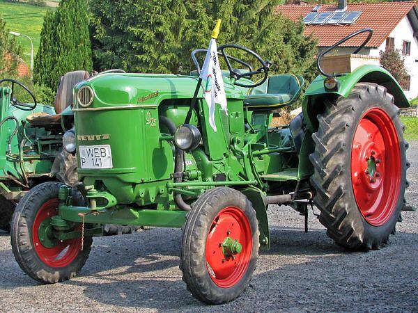 deutz d25 1m tractor co traktoren oldtimer. Black Bedroom Furniture Sets. Home Design Ideas
