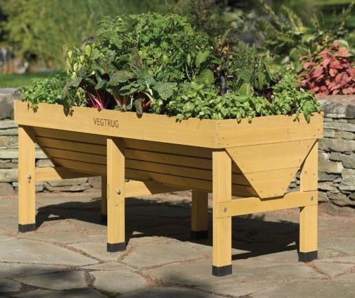 Vegtrug Raised Garden Planter Alex Vegetable Garden