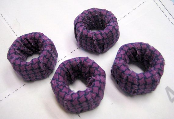 Fabric Covered Pattern Weights by LittleTinThimble on Etsy, $6.00