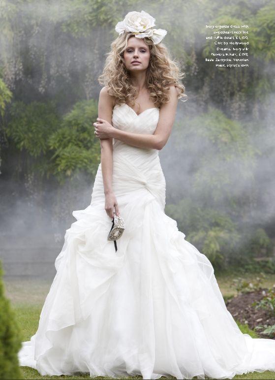 wedding dress for petite bride | Petite Wedding Dress (Source ...