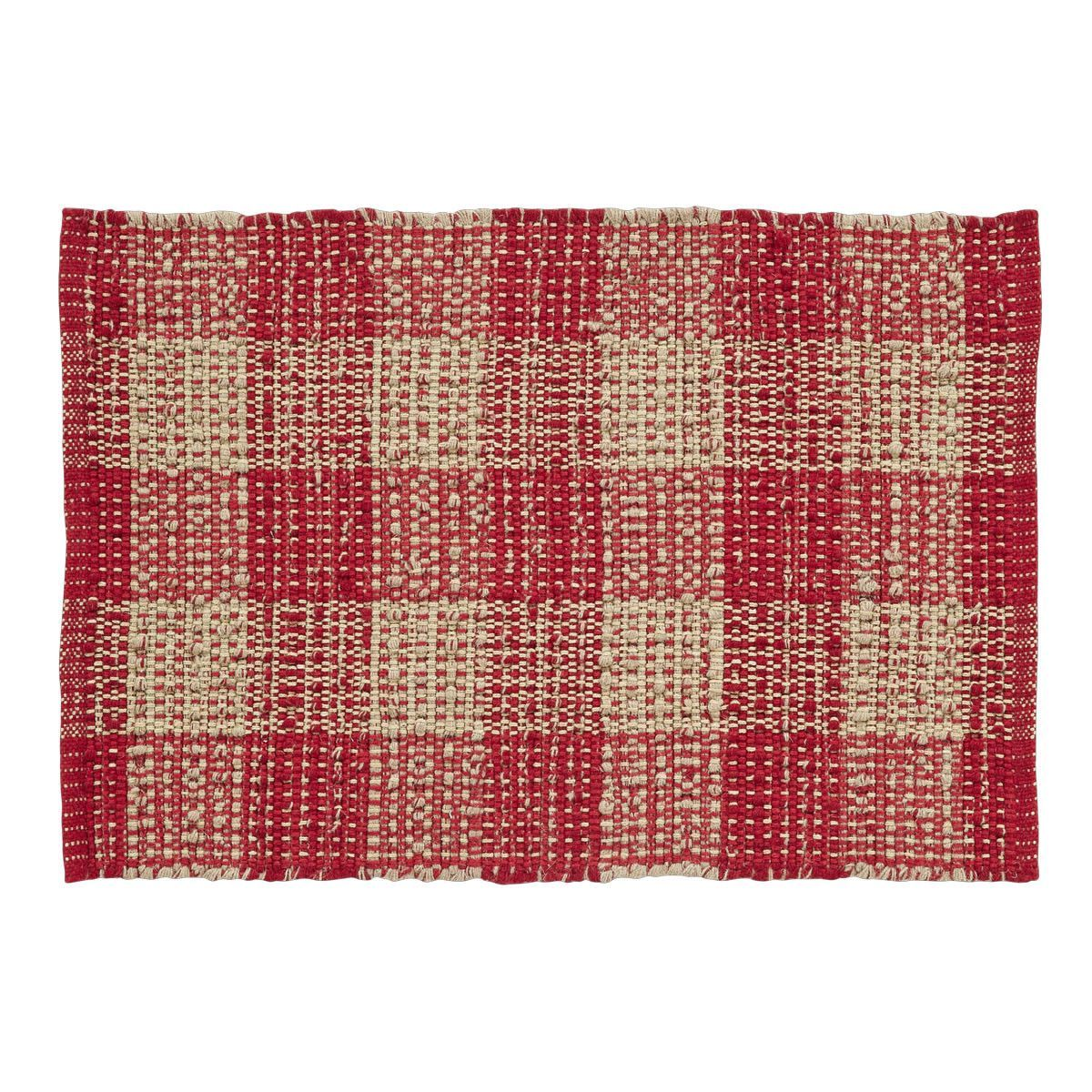 Collins Red Tan Area Rug Products