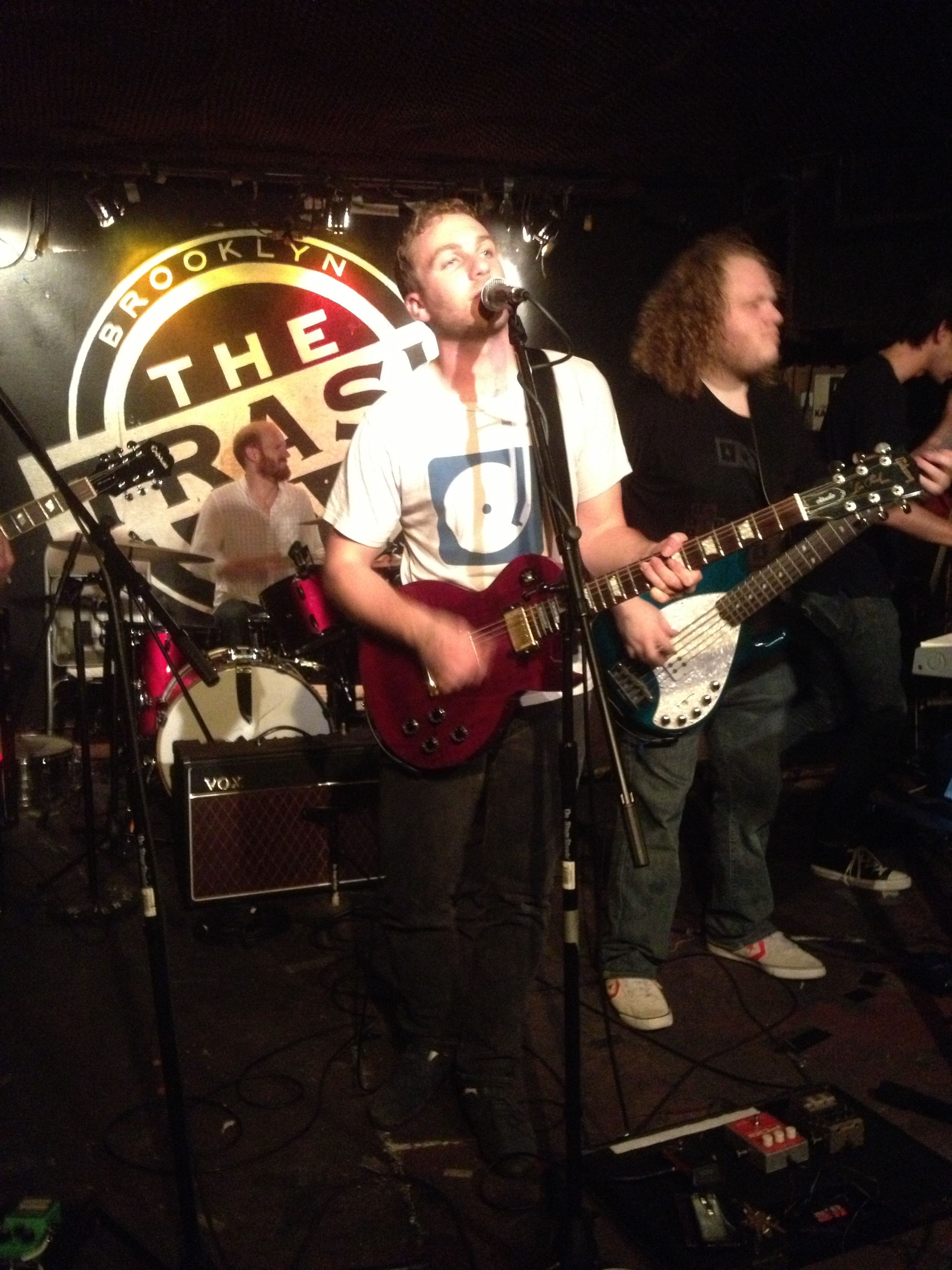 Stone Cold Fox performing at The Trash Bar 10/16/12 for CMJ 2012. #indie #cmj #livemusic #brooklyn @StoneColdFox