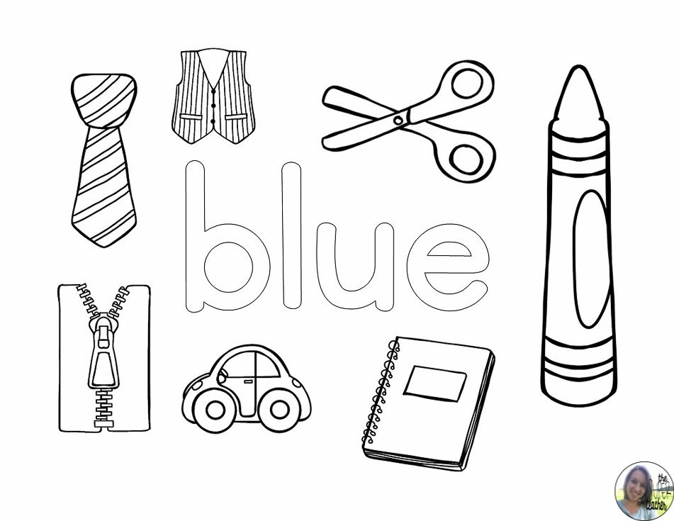 learning about colors  coloring pages  color worksheets
