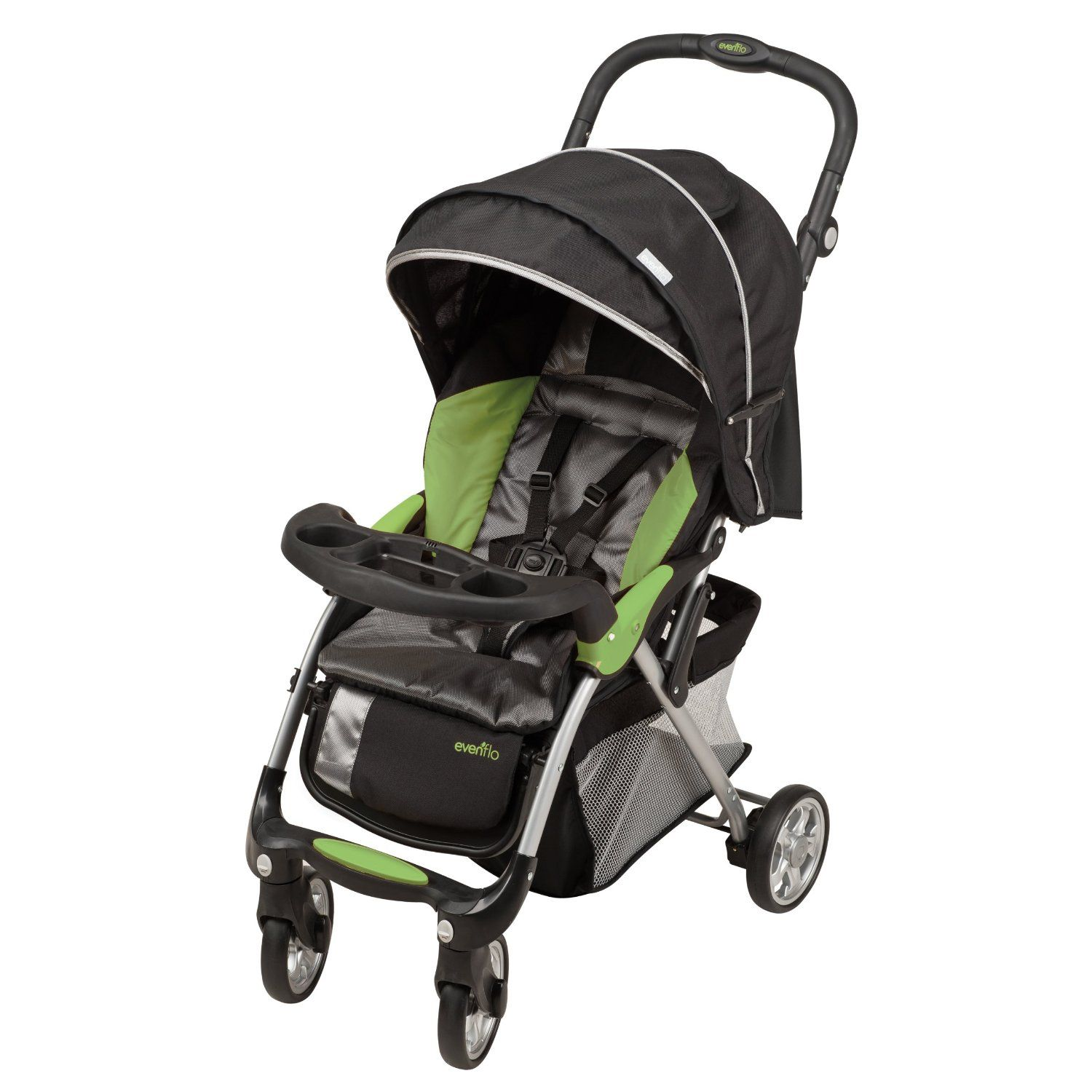 Evenflo Sibby Travel System w/ Litemax ICS (Charcoal