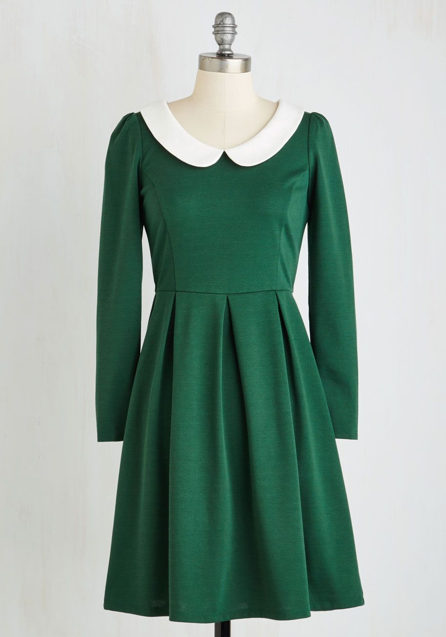 so cute fashion for women vintage inspired sleeve a line record store date dress sgd 10084 liked on polyvore featuring dresses apparel fashion dress green peter pan collar dress peter pan dress
