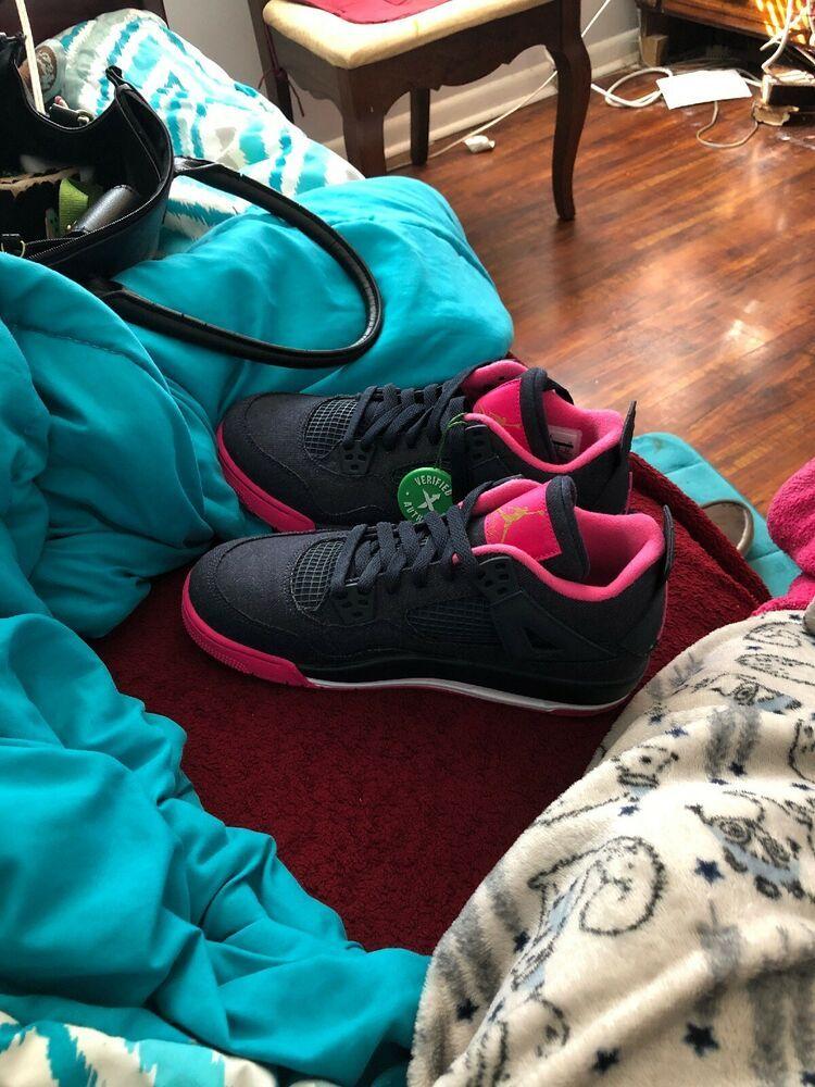 outlet store 5a34c 66670 Air Jordan Retro 4 Size 6  fashion  clothing  shoes  accessories   kidsclothingshoesaccs