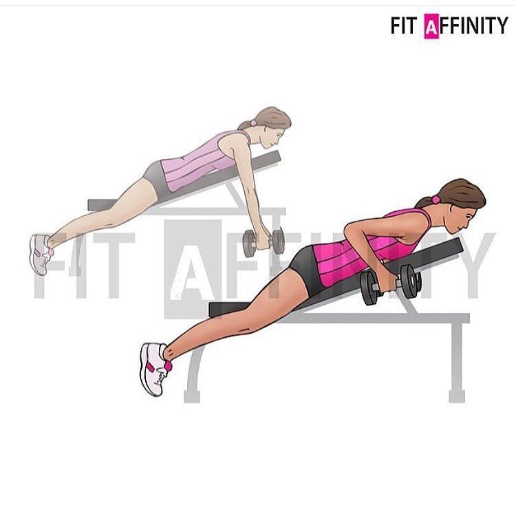 "Incline Dumbbell Row ""Incline Dumbbell Ro..."
