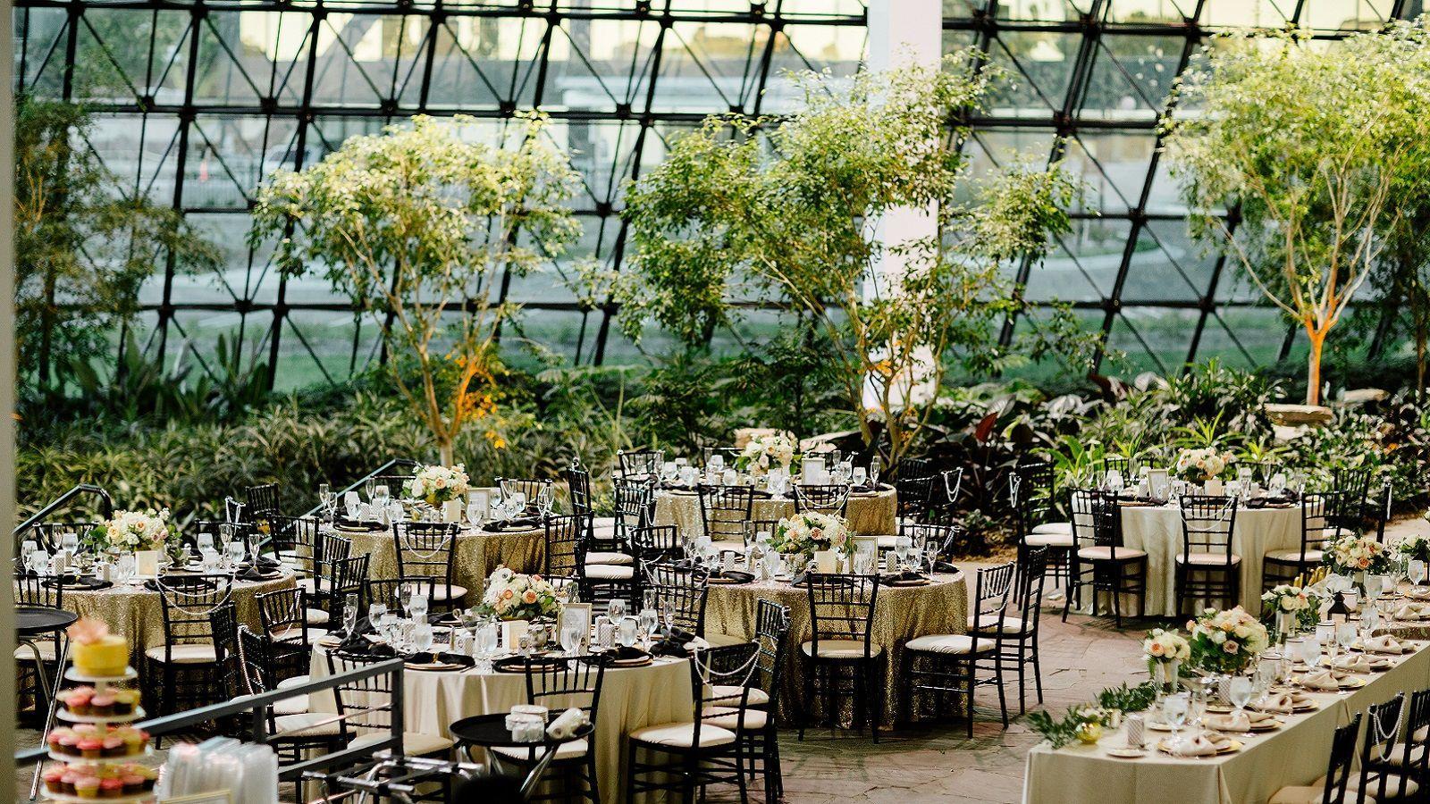 Westin Southfield Detroit Weddings Garden Atrium Michigan