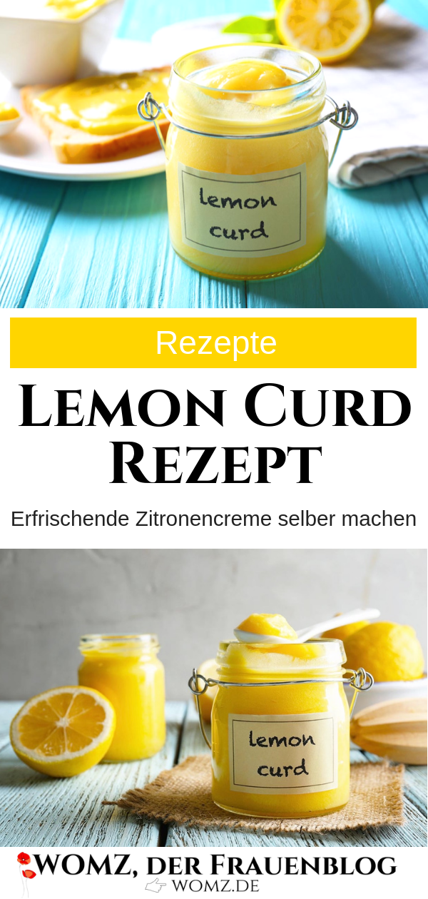 Lemon curd recipe: make lemon cream yourself