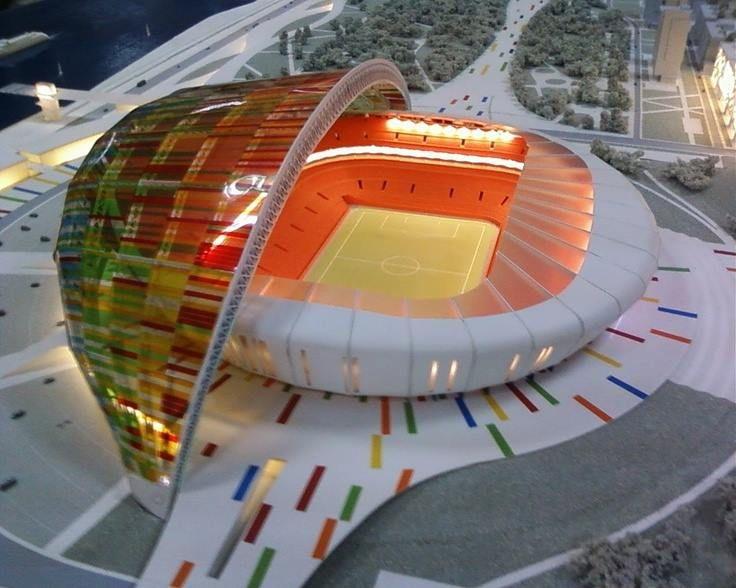 Stadium concept volgograd russia alexander asadov for Architectural engineering concepts