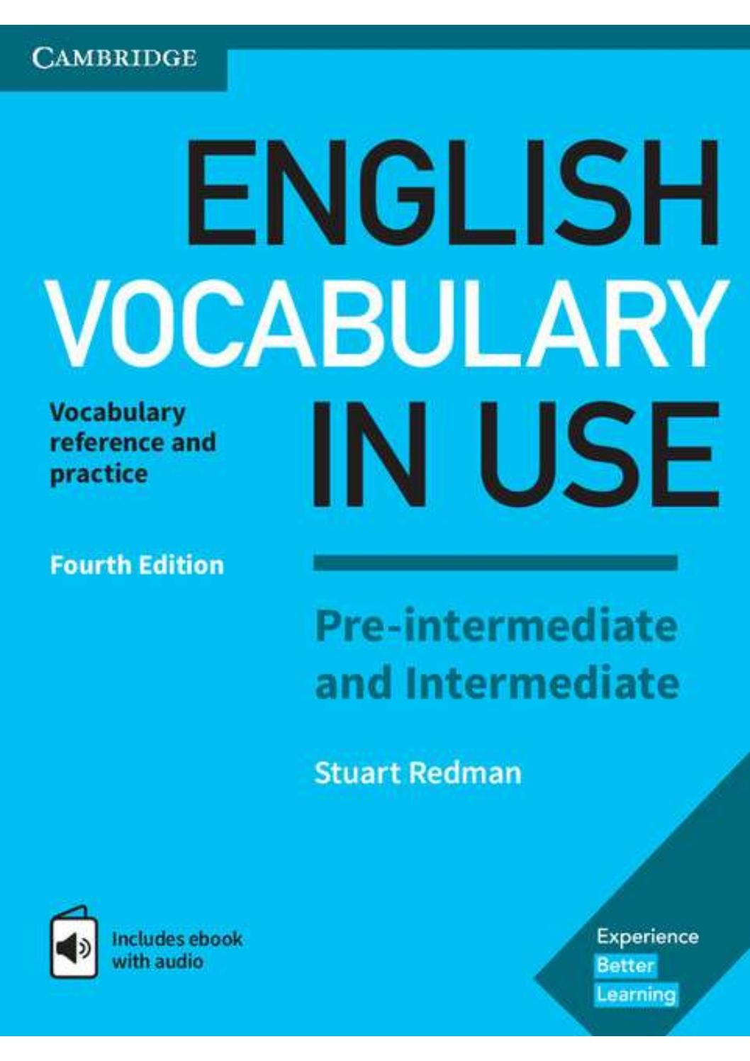 English Vocabulary In Use Pre Intermediate And Intermediate Book Vocabulary Book English Vocabulary Advanced English Vocabulary