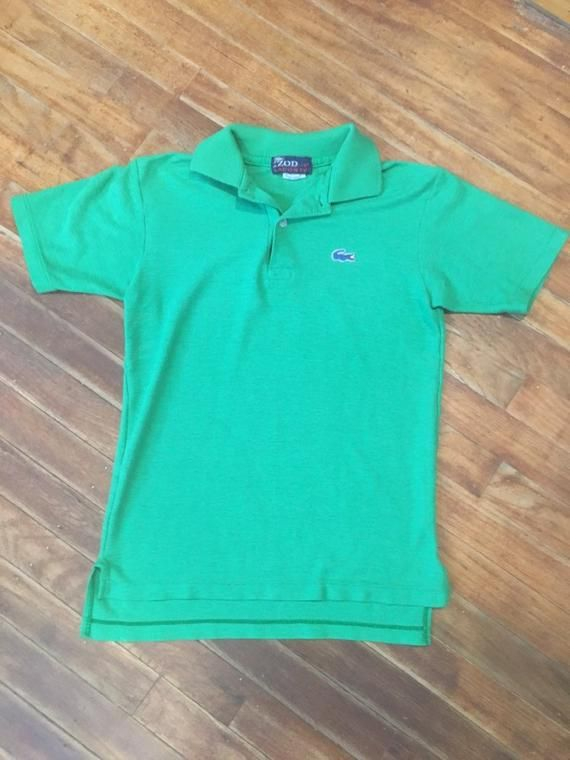 58355c63 Vintage womens kelly green lacoste izod 1980's polo shirt. Size XS ...