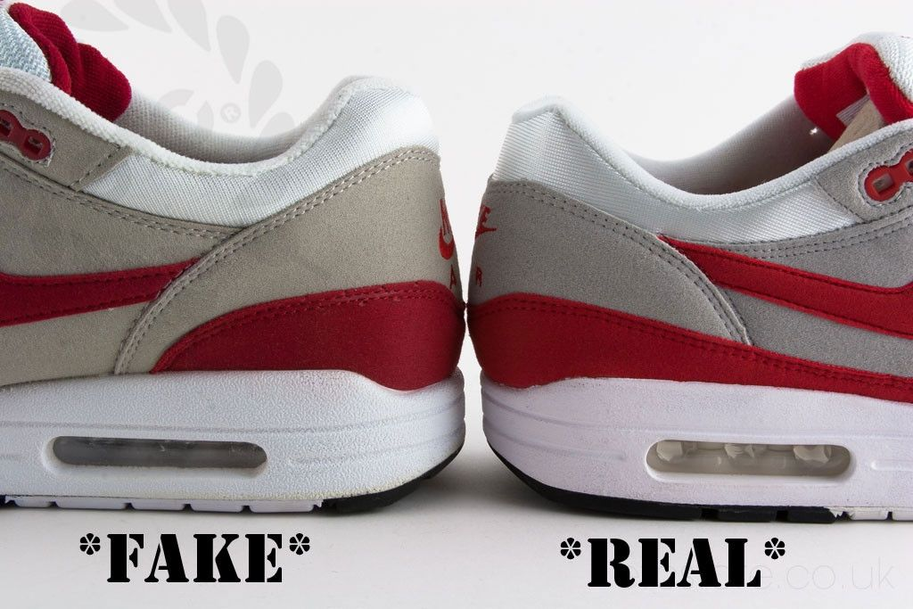 How to Spot FAKE Nike Air Max Shoes in 2019 | Vintage nike ...