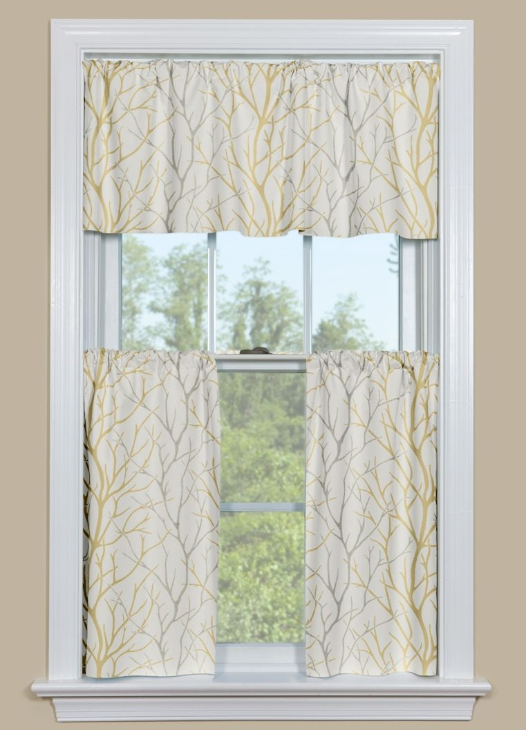 Kitchen Window Curtain Panels Yellow Kitchen Curtains Valances Valances Pinterest Curtain