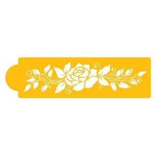 Plantillas / Stencil lateral de Rosa grande