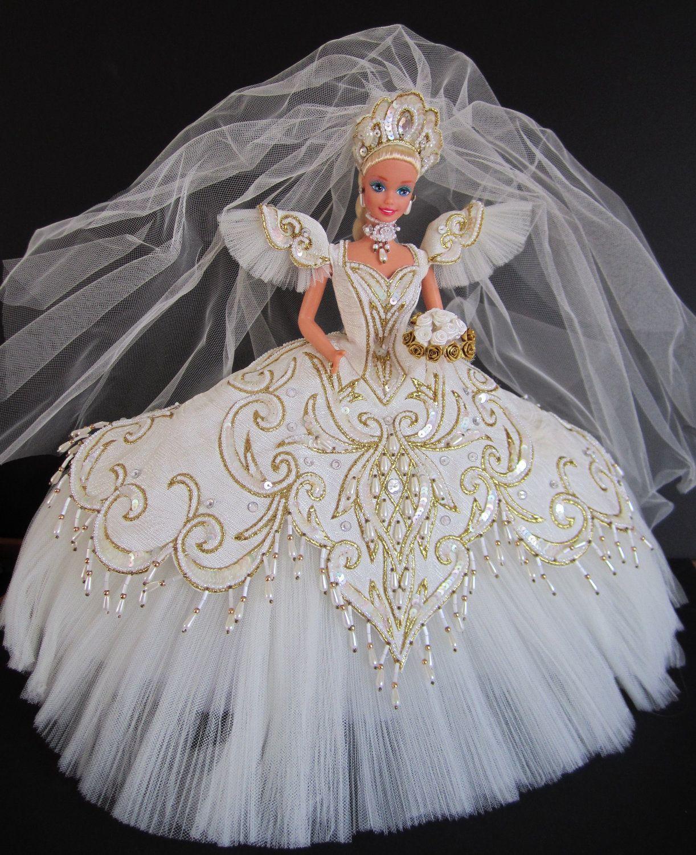19 - Empress Bride Barbie by Bob Mackie  Braut, Brautkleid, Kleider