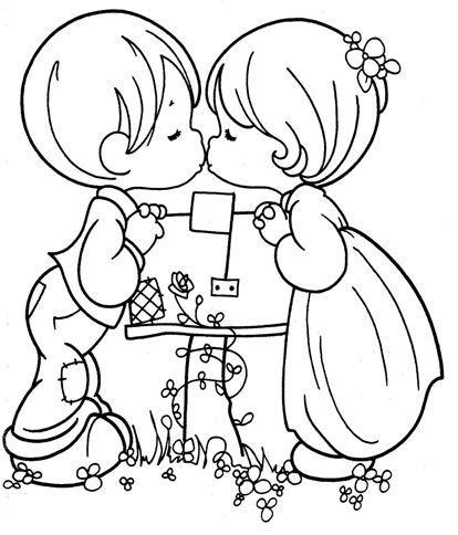 Dibujos de San Valentín de Precious Moments para colorear - Imagui ...