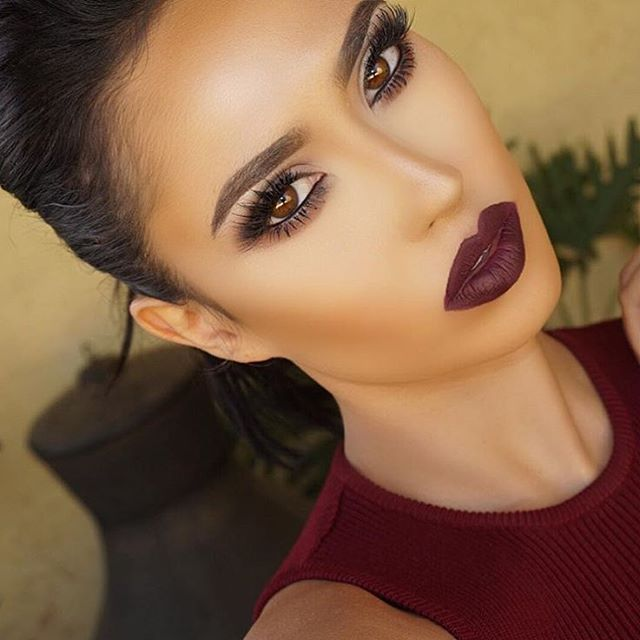 Perfection @brittanybearmakeup Ufe0f Plum Lipstick | Beauty | Pinterest | Plum Lipstick Matte ...