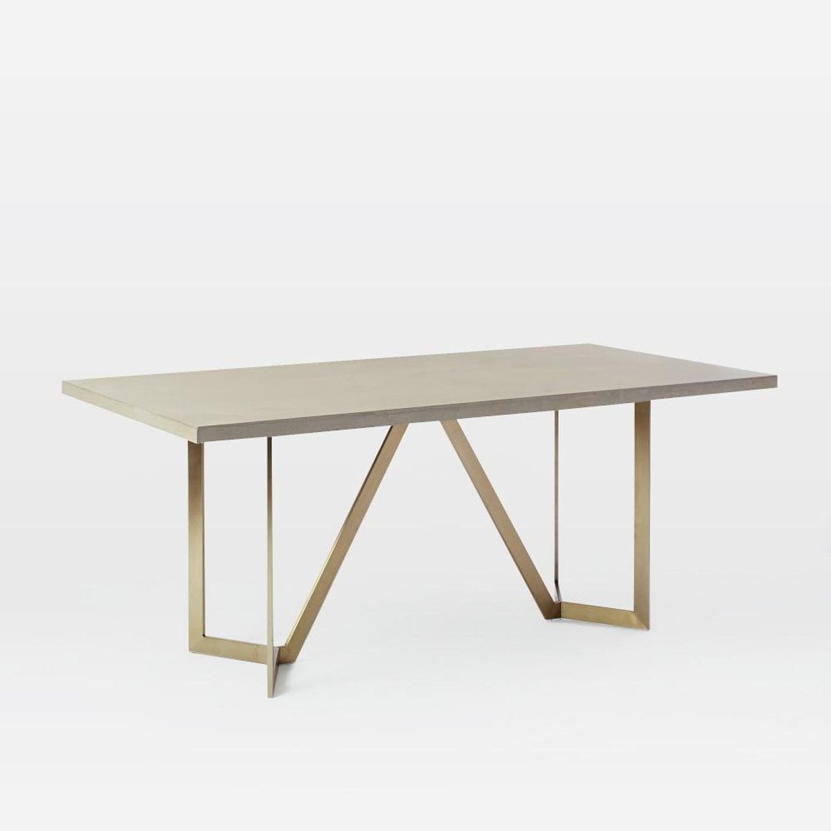 Tower Dining Table Concrete Concrete Dining Table