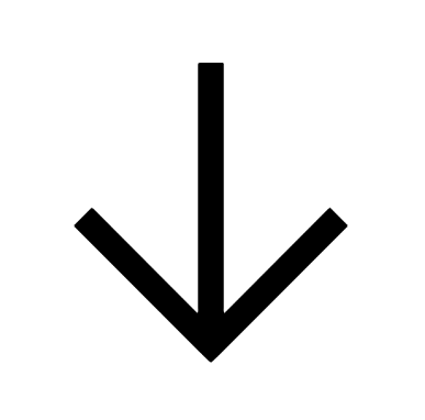Down Arrow Icon In Android Style Down Arrow Icon Android Icons Icon