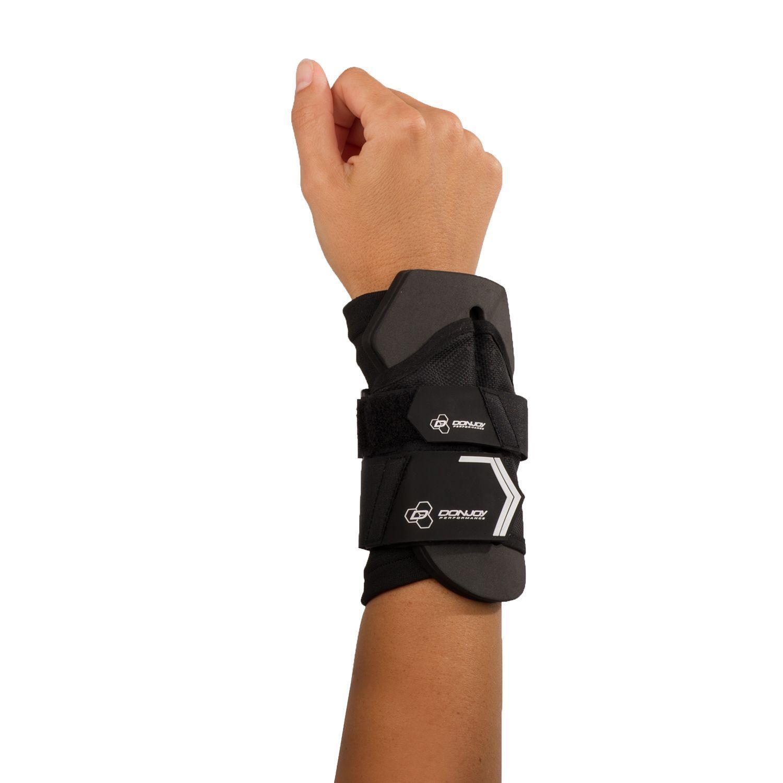 Donjoy performance anaform wrist wrap black wrap style