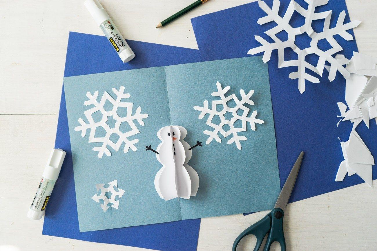 Diy Pop Up Christmas Cards 2 Ways